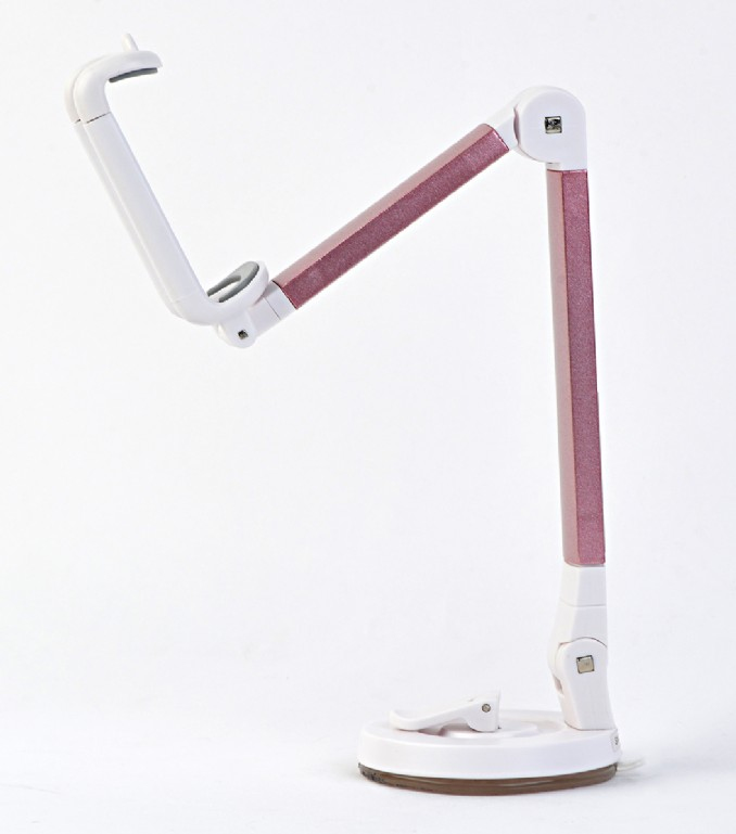 Gembird TA-DH-MX - Handy/Smartphone - Tablet/UMPC - Aktive Halterung - Tisch/Bank - Grau - Pink