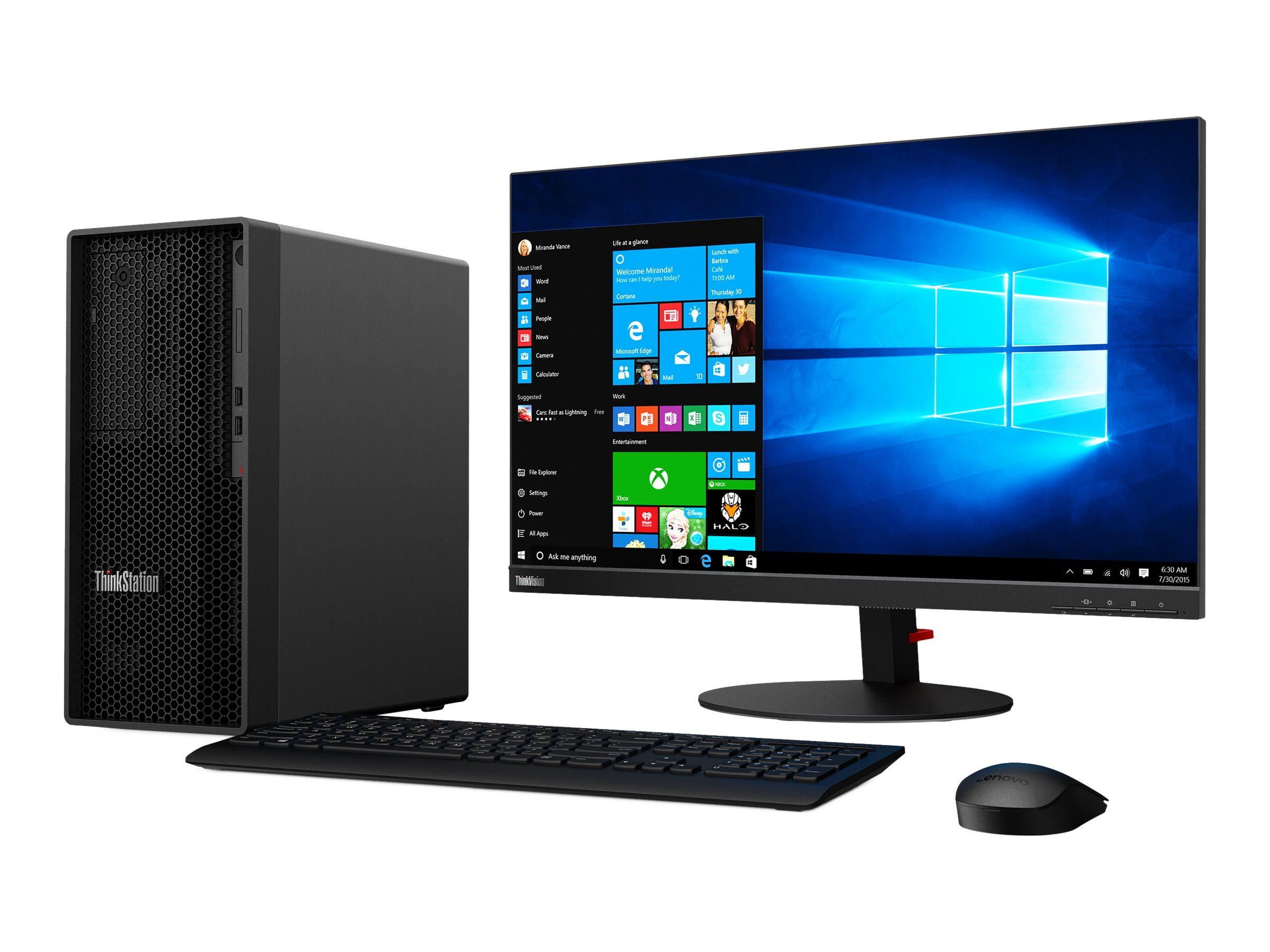 Lenovo ThinkStation P350 30E3 - Tower - 1 x Core i7 11700 / 2.5 GHz