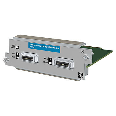 HP 2-port 10GbE CX4 al Reman Module (J9149A) - REFURB