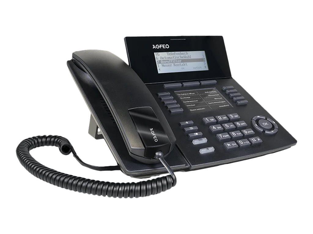 AGFEO ST 54 IP - VoIP-Telefon - Schwarz
