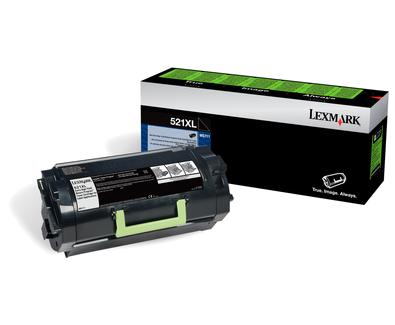 Lexmark 52D2X0L 45000Seiten Schwarz Lasertoner / Patrone