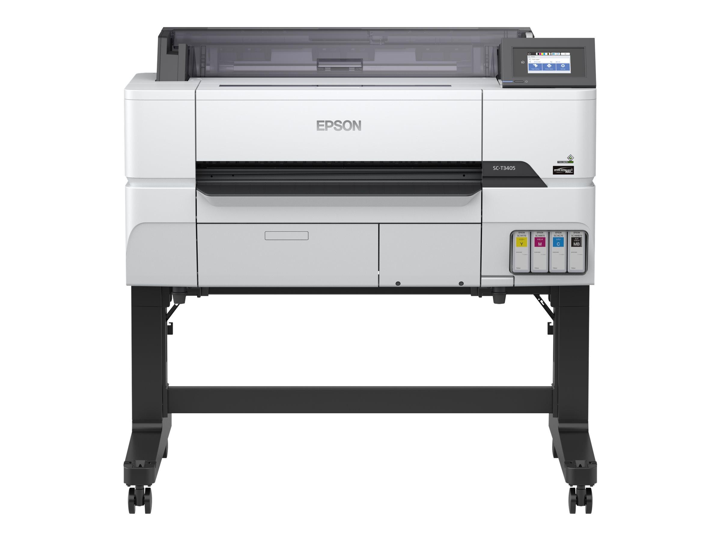 """Epson SureColor SC-T3405 - Mit St?nder - 610 mm (24"""")"""
