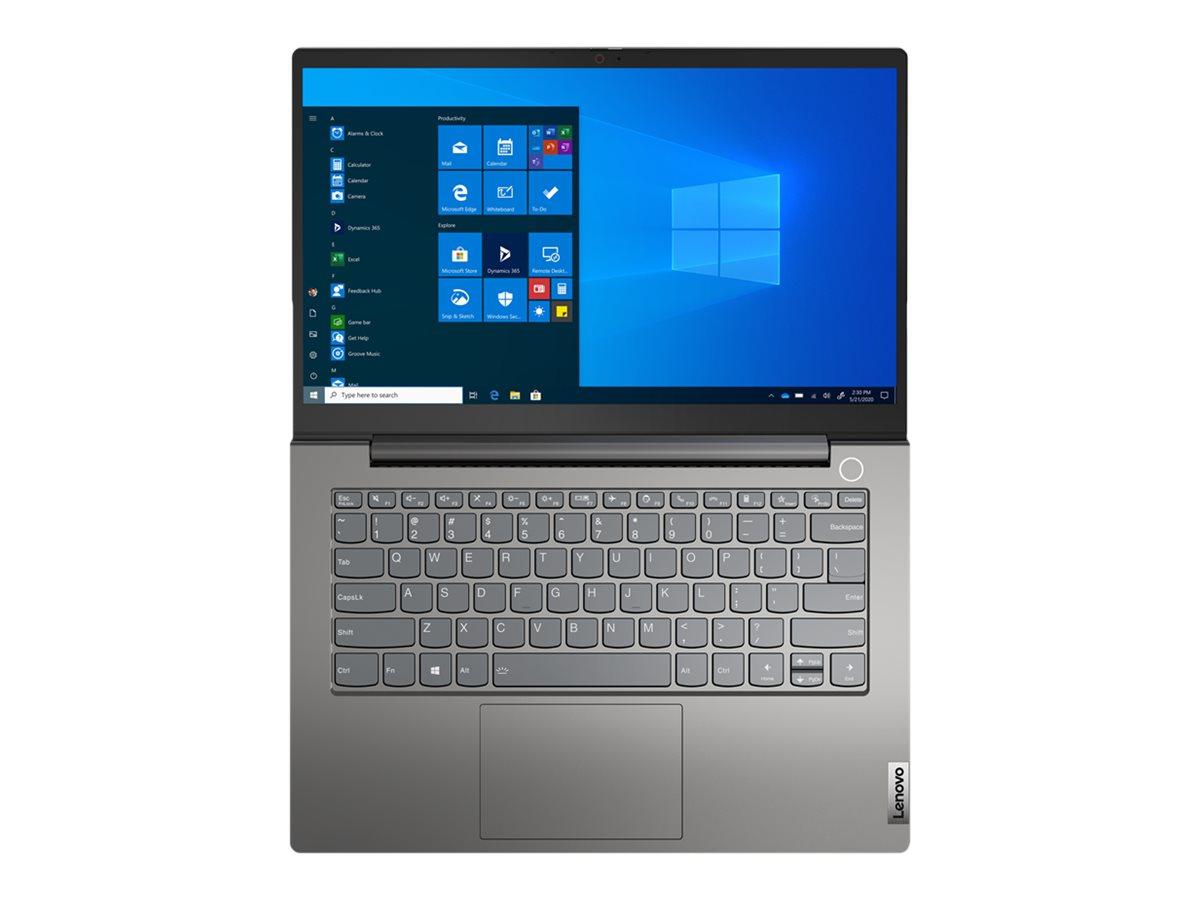 """Lenovo ThinkBook 14 G3 ACL 21A2 - Ryzen 5 5500U / 2.1 GHz - Win 10 Pro 64-Bit - 16 GB RAM - 512 GB SSD NVMe - 35.6 cm (14"""")"""