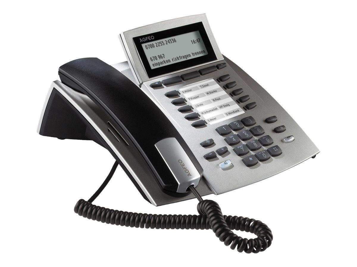 AGFEO ST 42 IP - VoIP-Telefon - Silber