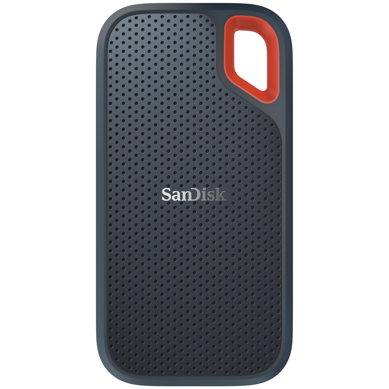 SanDisk Extreme - 2000 GB - USB Typ-C - 3.2 Gen 2 (3.1 Gen 2) - 550 MB/s - Passwortschutz - Grau - Orange