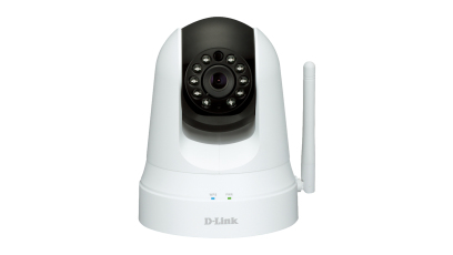 D-Link DCS 5020L Wireless N Day & Night Pan/Tilt Cloud Camera - Netzwerkkamera - 0,3 MP