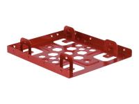 21334 HDD / SSD-Gehäuse 2.5Zoll Rot Speicherlaufwerksgehäuse