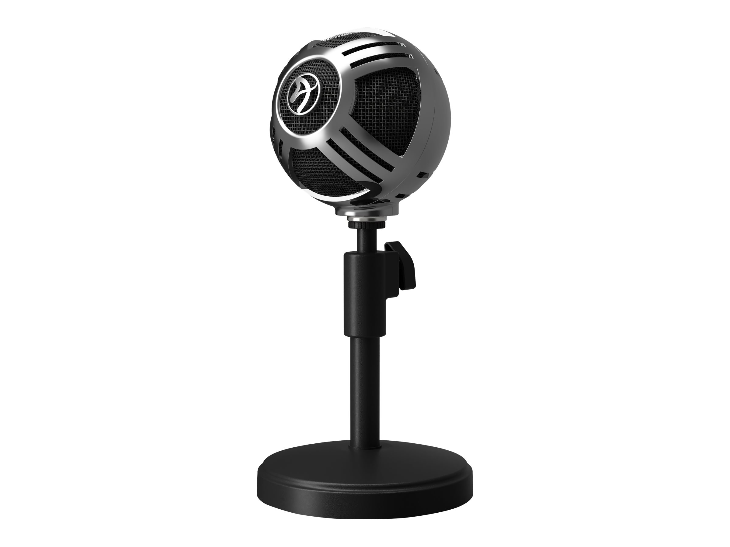 Arozzi Sfera - Mikrofon - kabelgebunden - USB - chrom