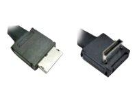 Oculink Cable Kit AXXCBL800CVCR OCuLink SFF-8611 OCuLink SFF-8611 Schwarz Kabelschnittstellen-/adapter