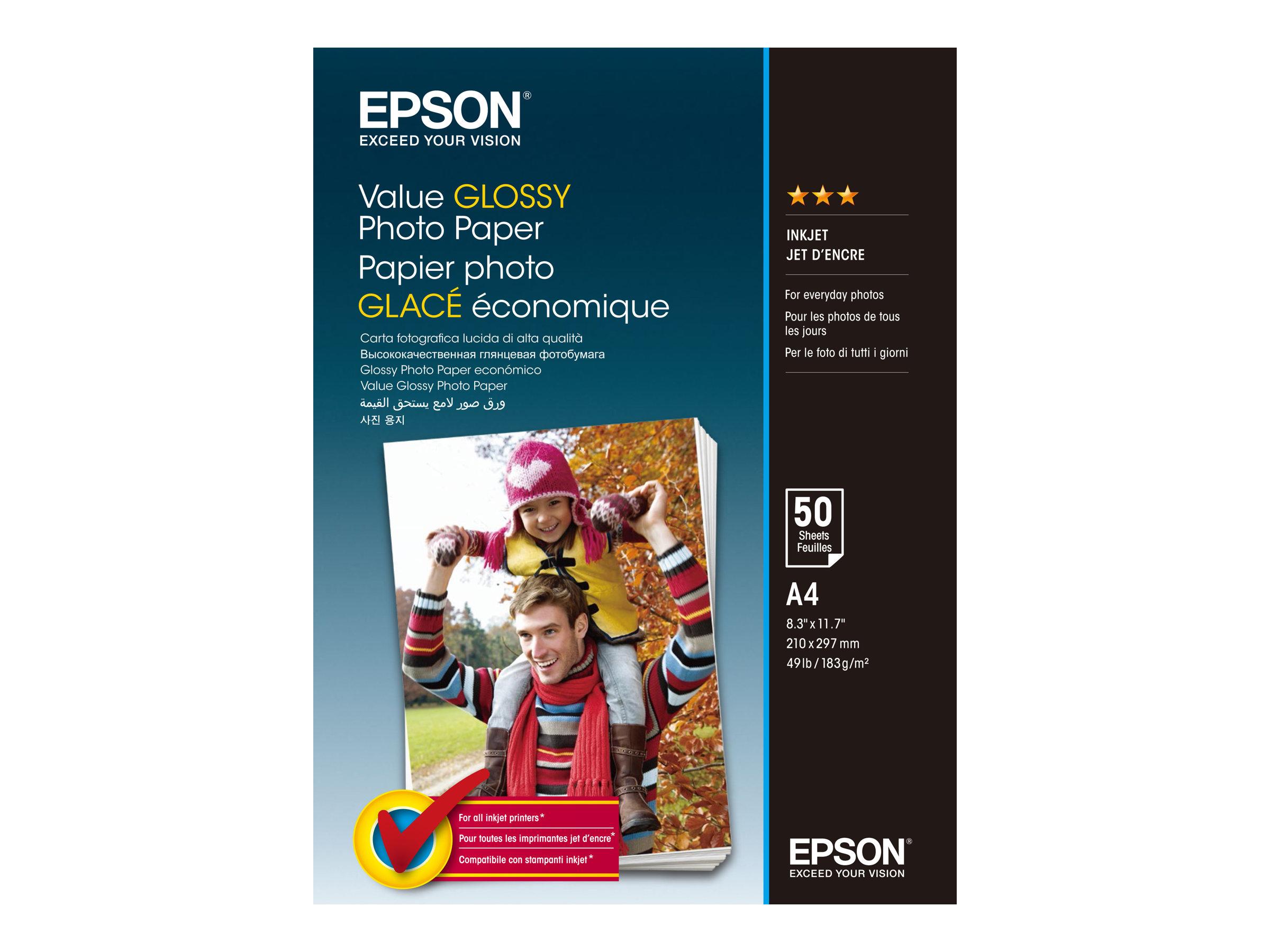 Epson Value - Glänzend - A4 (210 x 297 mm) - 183 g/m²