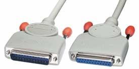 Lindy 25 pol. RS232 1 1 Verlängerungskabel 0.5m - Sonstige Produkte