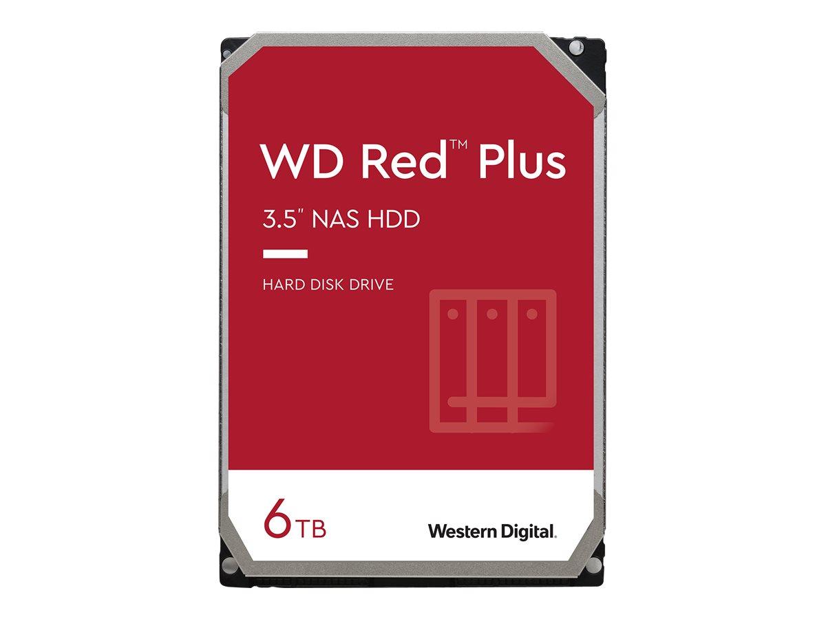 """Vorschau: WD Red Plus NAS Hard Drive WD60EFZX - Festplatte - 6 TB - intern - 3.5"""" (8.9 cm)"""