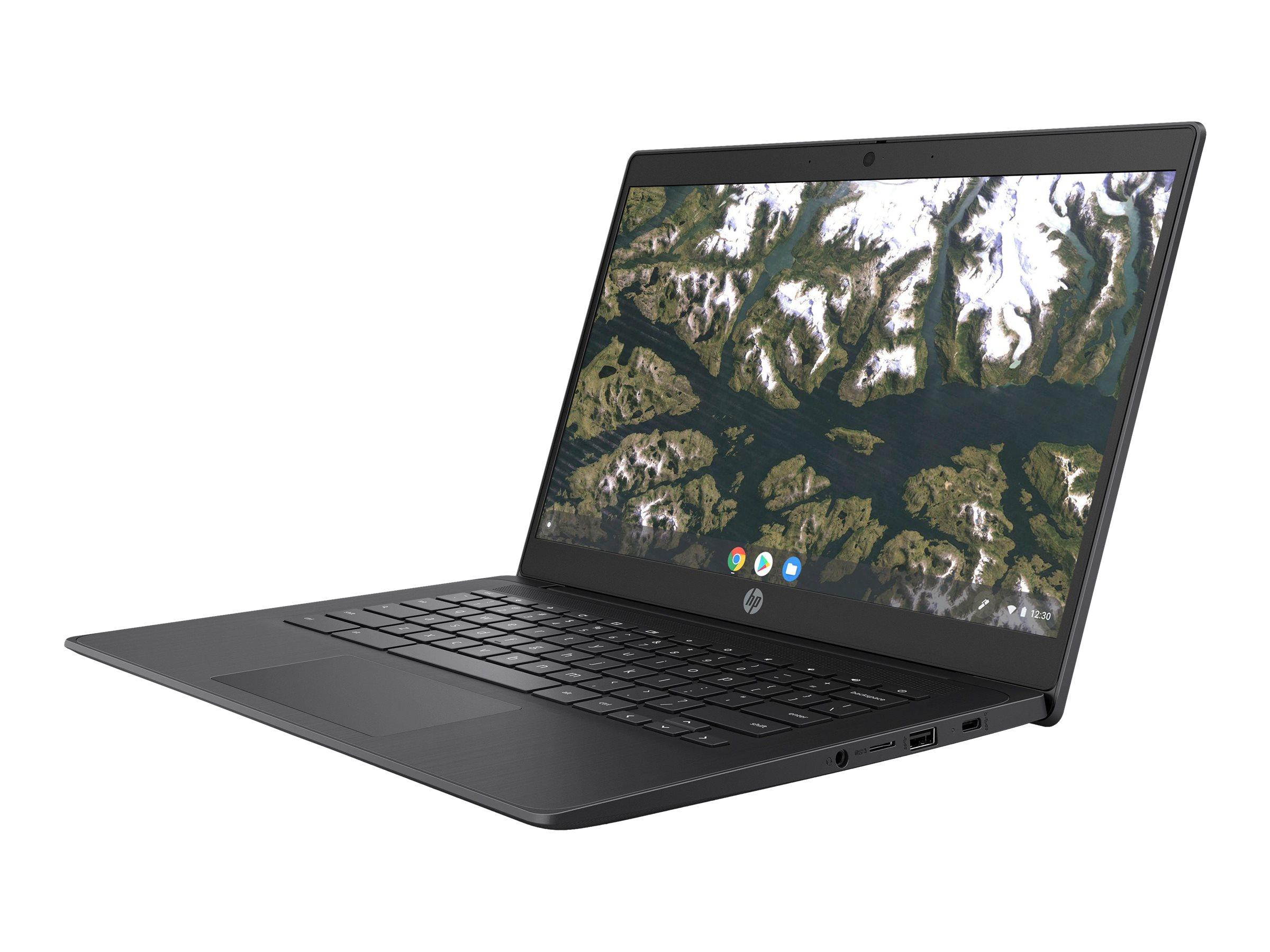 "HP Chromebook 14 G6 - Celeron N4020 / 1.1 GHz - Chrome OS 64 - 4 GB RAM - 32 GB eMMC - 35.56 cm (14"")"