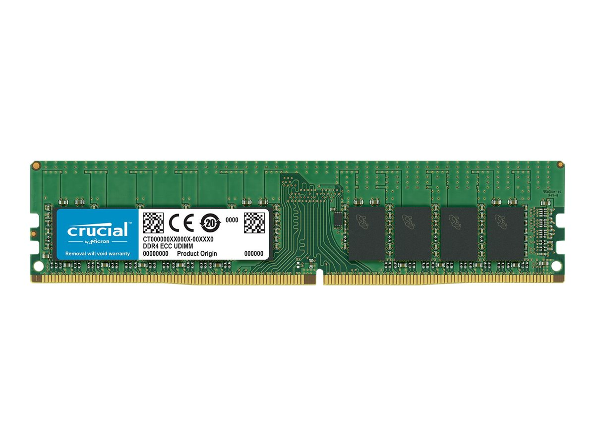 Micron Crucial - DDR4 - 16 GB - DIMM 288-PIN - 2666 MHz / PC4-21300