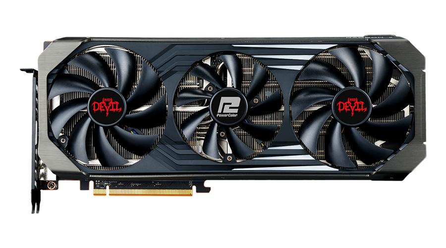 Vorschau: PowerColor Red Devil Radeon RX 6700XT - Radeon RX 6700 XT - 12 GB - GDDR6 - 192 Bit - 7680 x 4320 Pixel - PCI Express 4.0