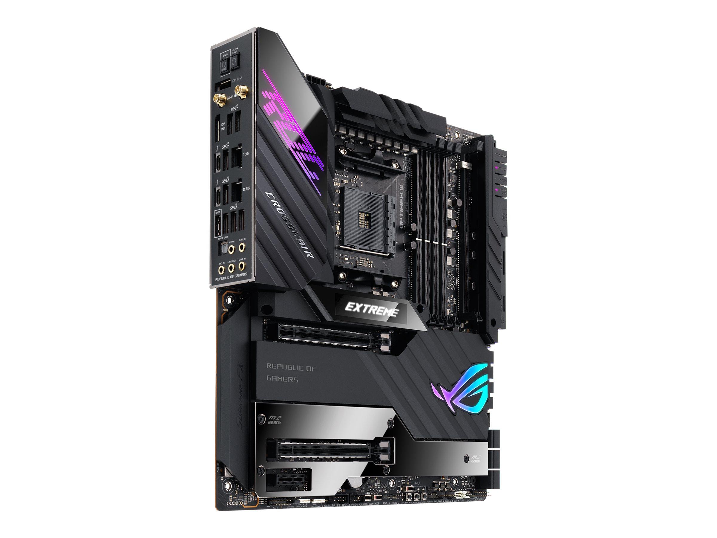 ASUS ROG CROSSHAIR VIII EXTREME - Motherboard - Erweitertes ATX - Socket AM4 - AMD X570 Chipsatz - USB-C Gen2, USB 3.2 G