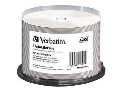 Verbatim DataLifePlus - 50 x CD-R - 700 MB 52x