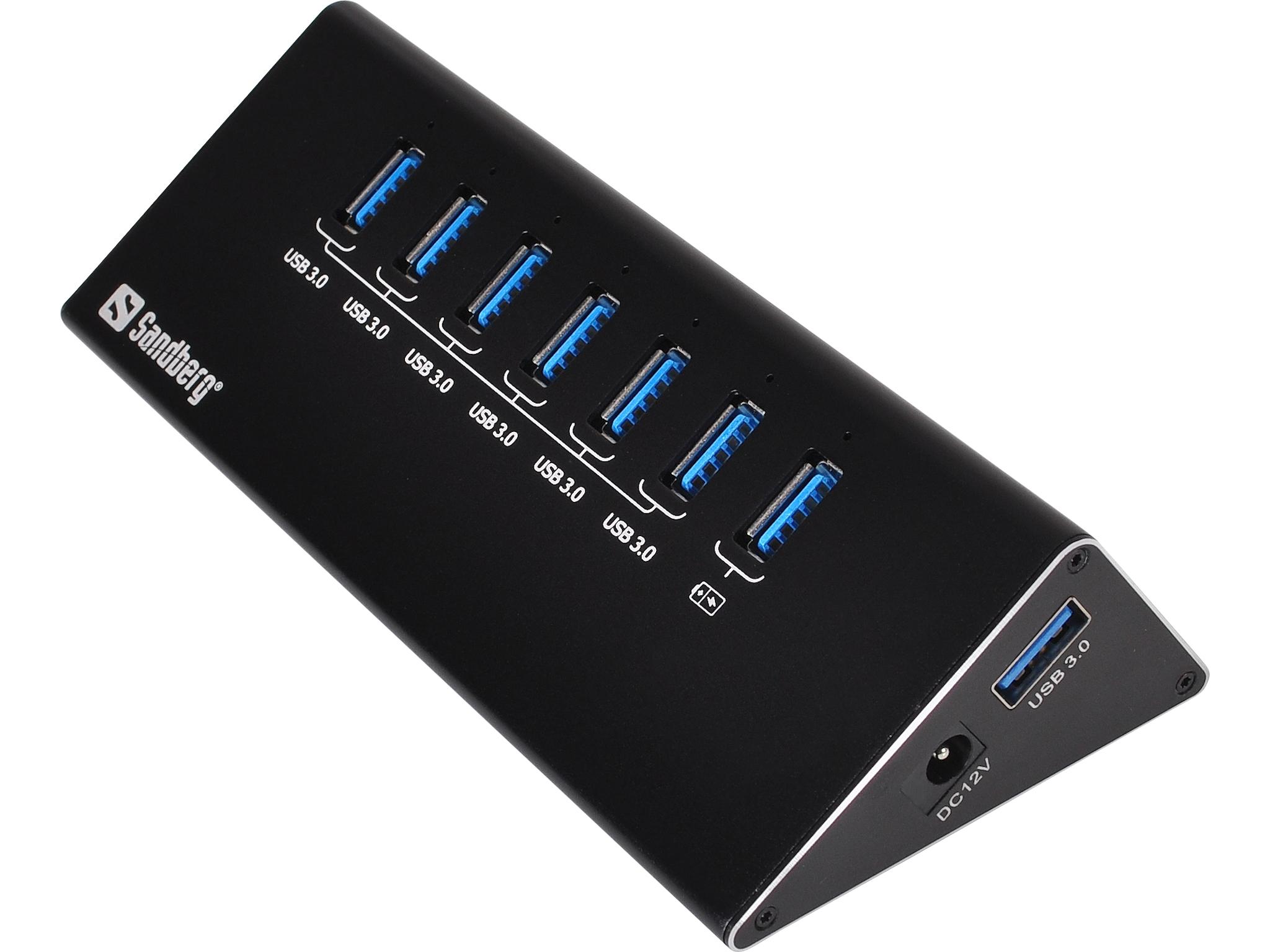 SANDBERG A/S Sandberg USB 3.0 Hub 6+1 ports