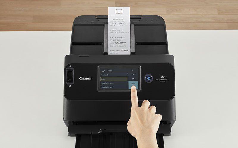 Canon imageFORMULA DR-S130 - Dokumentenscanner - CMOS / CIS - Duplex - 216 x 3000 mm - 600 dpi x 600 dpi - bis zu 30 Seiten/Min. (einfarbig)