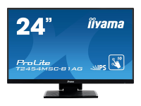 ProLite T2454MSC-B1AG Touchscreen-Monitor 60,5 cm (23.8 Zoll) 1920 x 1080 Pixel Schwarz Multi-touch Multi-Nutzer