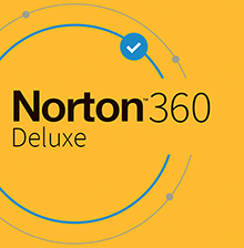 Symantec Norton 360 Deluxe - Box-Pack (1 Jahr) - 3 Geräte, 25 GB Cloud-Speicherplatz