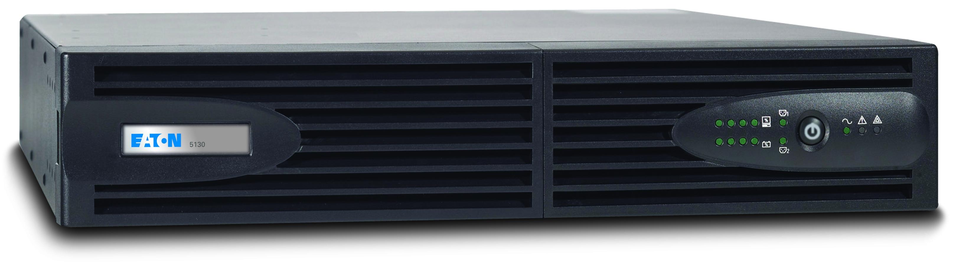 Eaton 5130i2500-XL2U 2500VA 9AC-Ausgänge Rackmount/Tower Schwarz Unterbrechungsfreie Stromversorgung (UPS)