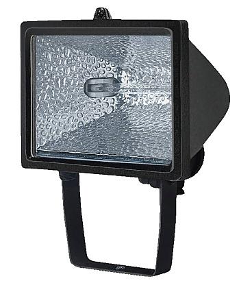 Vorschau: Brennenstuhl H 500 IP54 - Wandbeleuchtung für den Außenbereich - Schwarz - Aluminium - IP44 - Garage - Garten - R7s