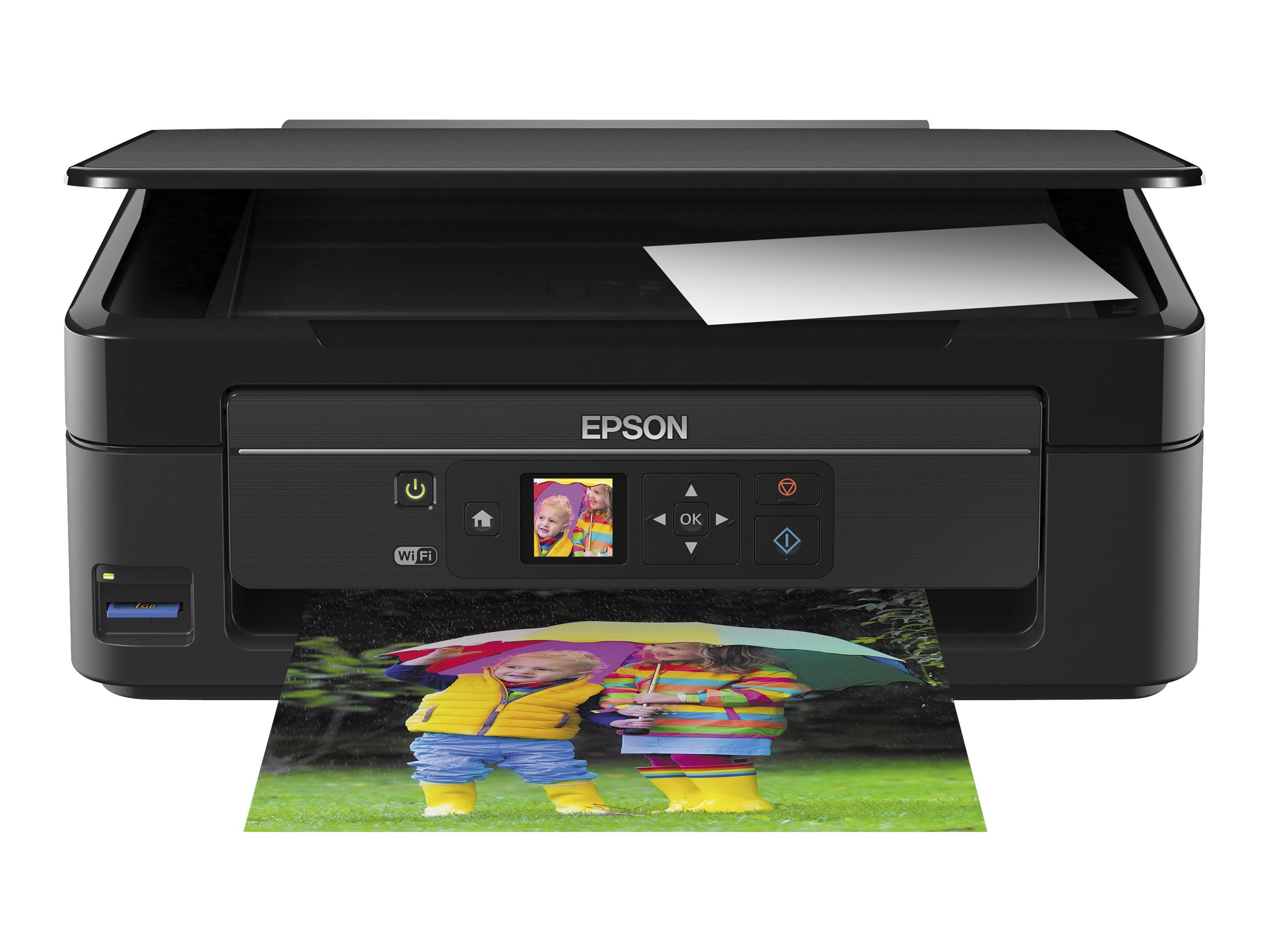 Epson Expression Home XP-342 - Multifunktionsdrucker - Farbe - Tintenstrahl - A4/Legal (Medien)