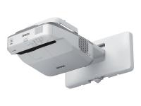 EB-675W Wand-Projektor 3200ANSI Lumen 3LCD WXGA (1280x800) Grau - Weiß Beamer