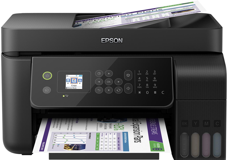 Epson EcoTank EcoTank ET-4700 Unlimited - Tintenstrahl - 5760 x 1440 DPI - 100 Blätter - A4 - Direkter Druck - Schwarz