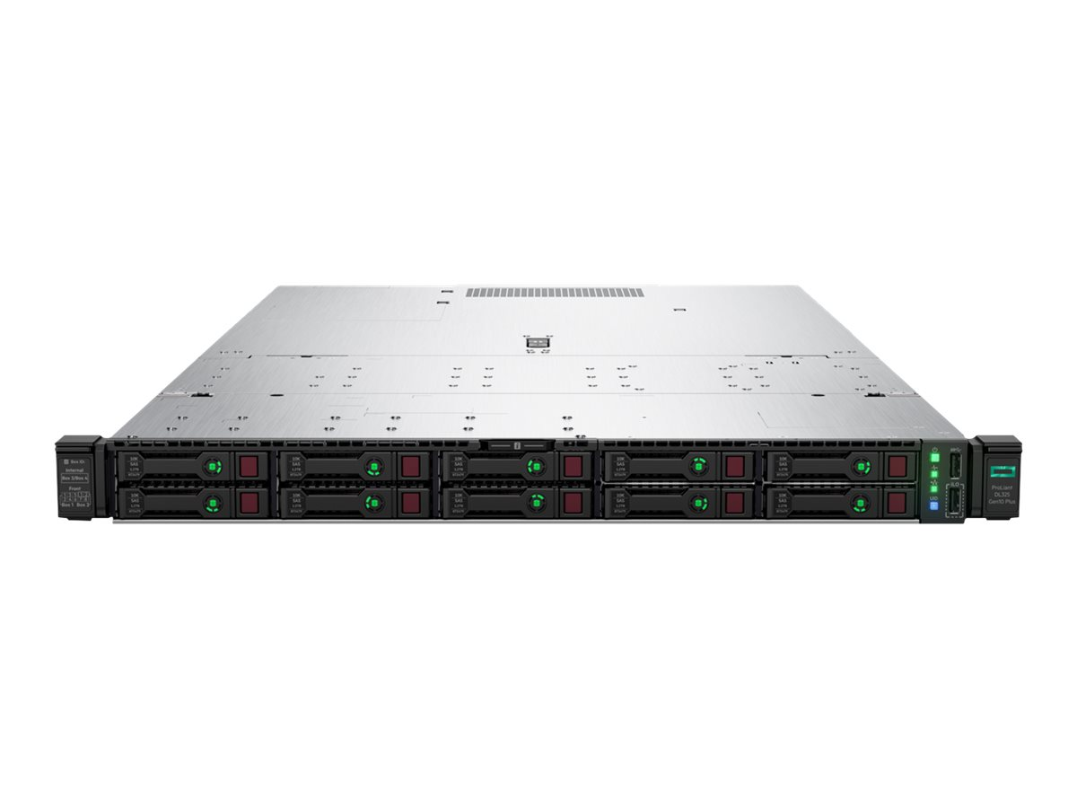 "HP Enterprise ProLiant DL325 Gen10 Plus - Server - Rack-Montage - 1U - 1-Weg - 1 x EPYC 7402P / 2.8 GHz - RAM 64 GB - SAS - Hot-Swap 6.4 cm (2.5"")"