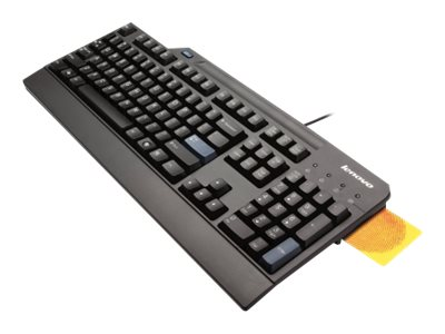 Lenovo Smartcard - Tastatur - USB - Deutsch - Schwarz