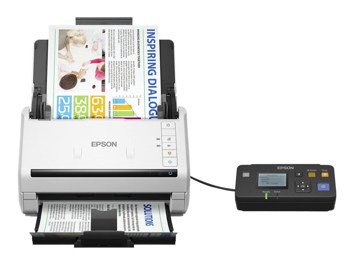 Epson WorkForce DS-530N - Dokumentenscanner - Duplex - A4 - 600 dpi x 600 dpi - bis zu 35 Seiten/Min. (einfarbig)
