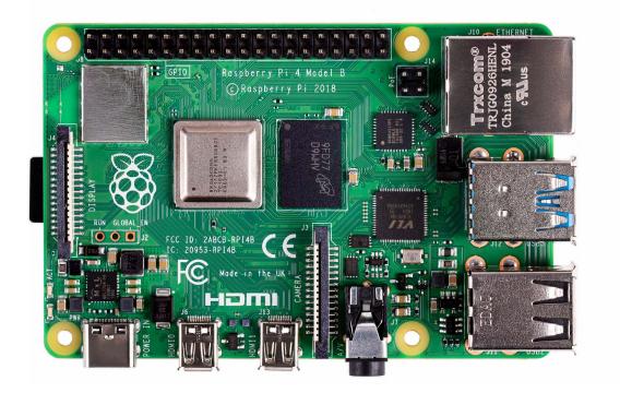 Raspberry Pi Pi 4 Model B - Einplatinenrechner - Broadcom BCM2711 1.5 GHz