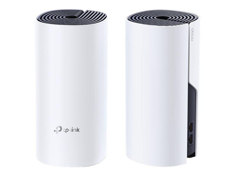 TP-LINK Deco P9 - WLAN-System (2 Router) - bis zu 371 m² - Netz - GigE, HomePlug AV (HPAV)