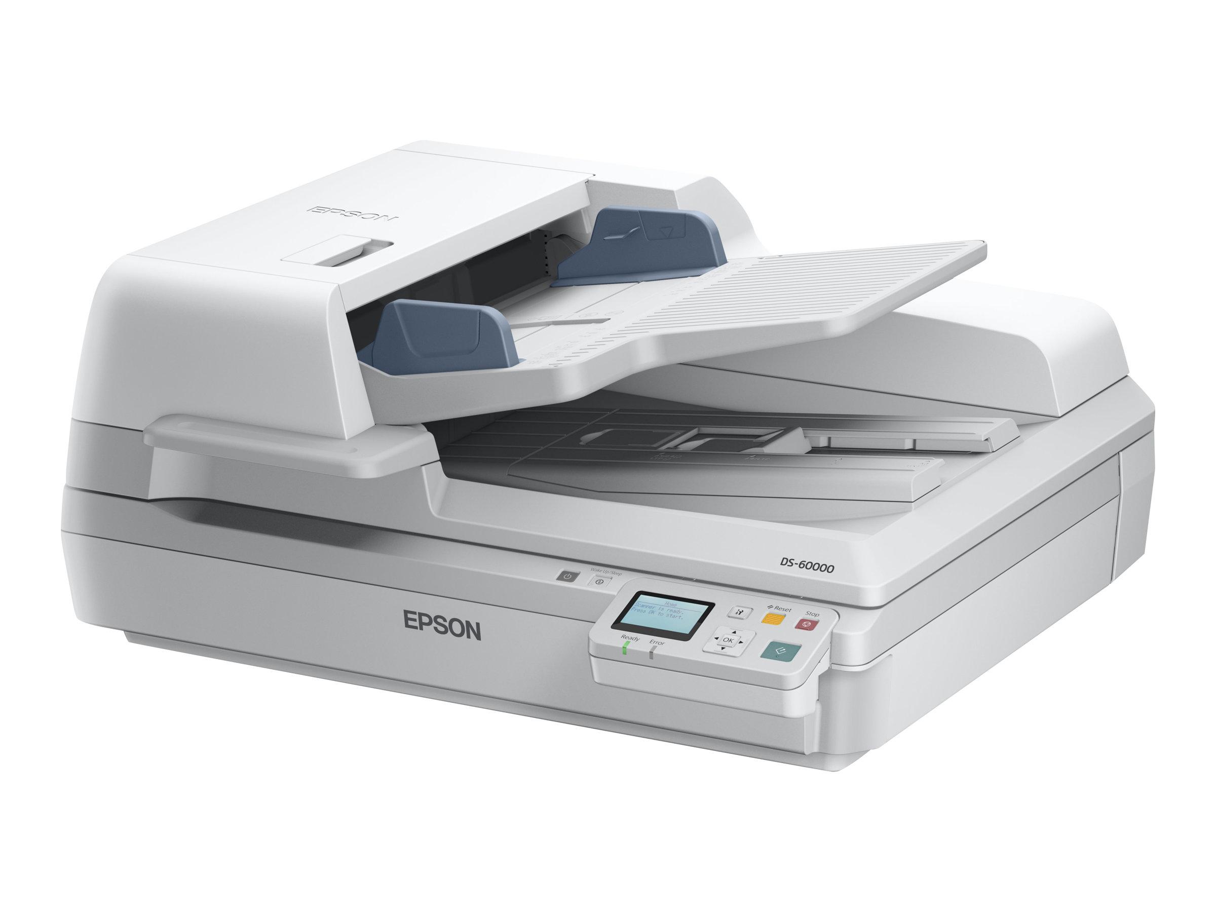 Epson WorkForce DS-60000N - Dokumentenscanner - Duplex - A3 - 600 dpi x 600 dpi - bis zu 40 Seiten/Min. (einfarbig)