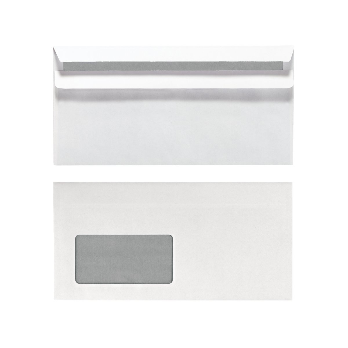 Herlitz 11285541 - DL (110 x 220 mm) - Papier - Weiß - 75 g/m² - 110 mm - 22 cm