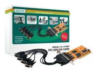 4-Port Serielle Schnittstellenkarte, PCI
