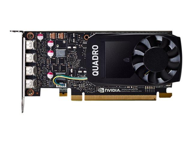 PNY NVIDIA Quadro P1000 DVI - Grafikkarten - Quadro P1000