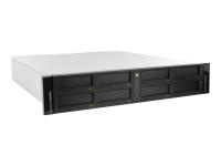 RDX QuikStation 8 2U Schwarz - Weiß Tape-Autoloader & -Library