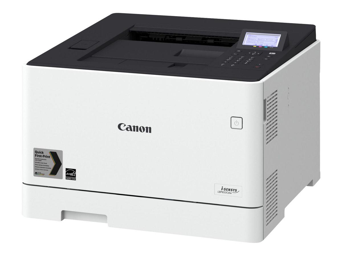 Canon i-SENSYS LBP653Cdw - Drucker - Farbe - Duplex - Laser - A4/Legal - 1200 x 1200 dpi - bis zu 27 Seiten/Min. (einfarbig)/