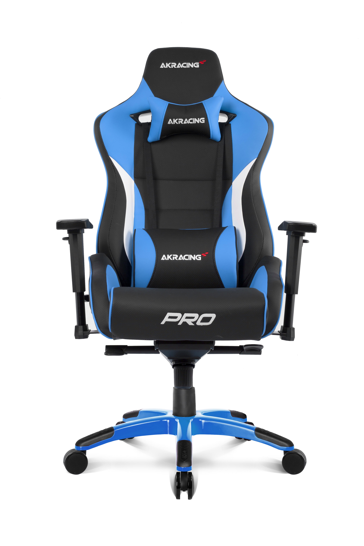 AKRacing Pro - PC-Gamingstuhl - PC - 150 kg - Gepolsterter - ausgestopfter Sitz - Gepolsterte - ausgestopfte Rückenlehne - Rennen