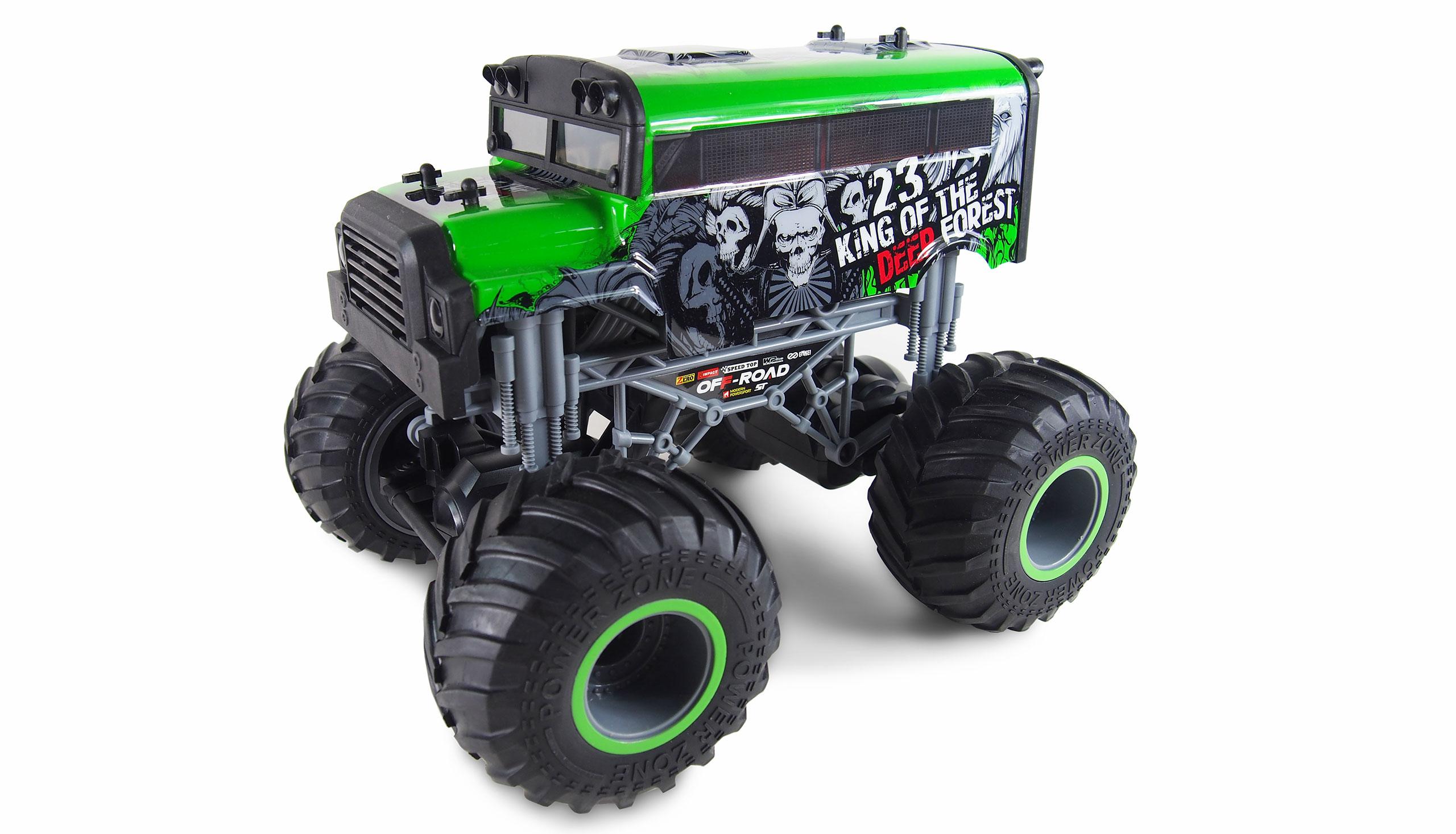 Vorschau: Amewi Crazy SchoolBus - Monstertruck - 1:16 - Junge - 6 Jahr(e) - 700 mAh - 1 kg