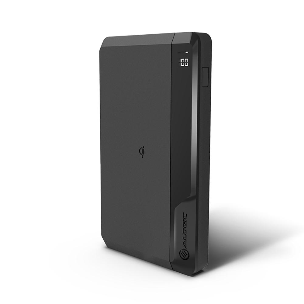 Vorschau: Alogic P27QC10P60-BK - Schwarz - Universal - ABS - Kautschuk - 27000 mAh - USB - 60 W