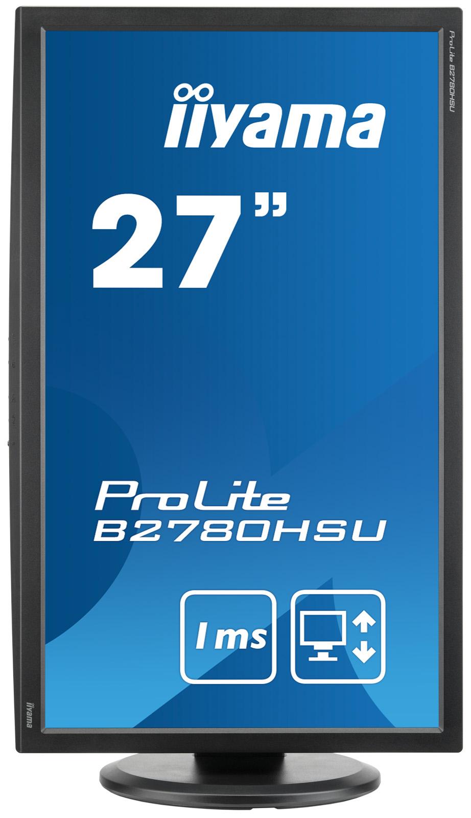 Iiyama ProLite B2780HSU 27Zoll Full HD TN Matt Schwarz Computerbildschirm