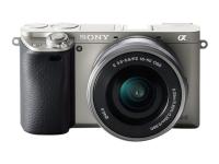 ILCE-6000 + E PZ 16-50mm Systemkamera 24.3MP CMOS 6000 x 4000Pixel Schwarz - Graphit