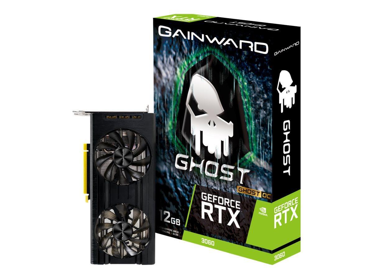 Vorschau: Gainward GeForce RTX 3060 Ghost OC - Grafikkarten