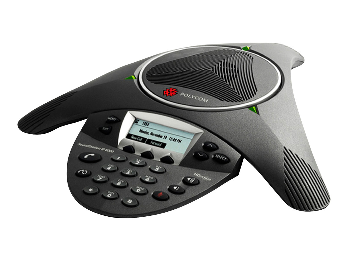 Poly SoundStation IP 6000 - VoIP-Konferenztelefon