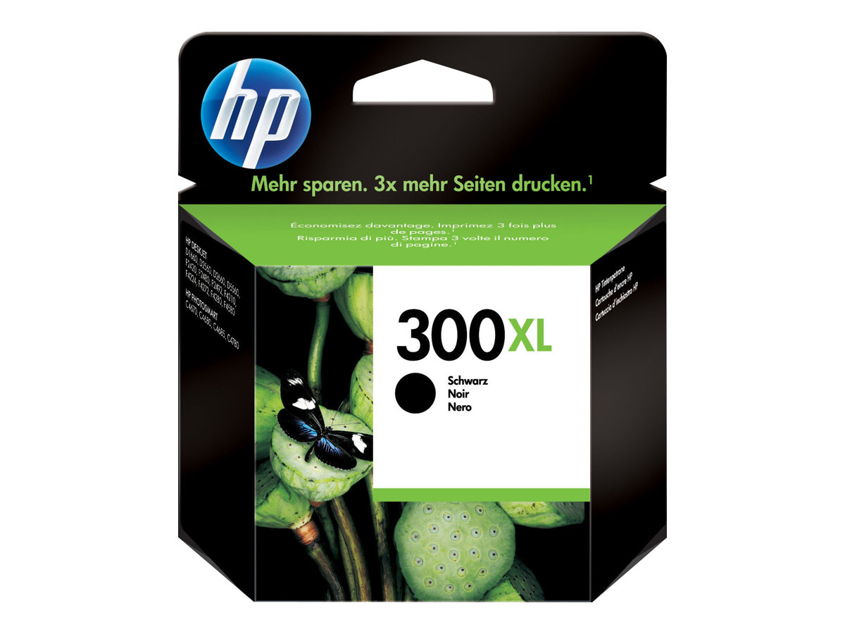 HP 300XL - 12 ml - Hohe Ergiebigkeit - Schwarz
