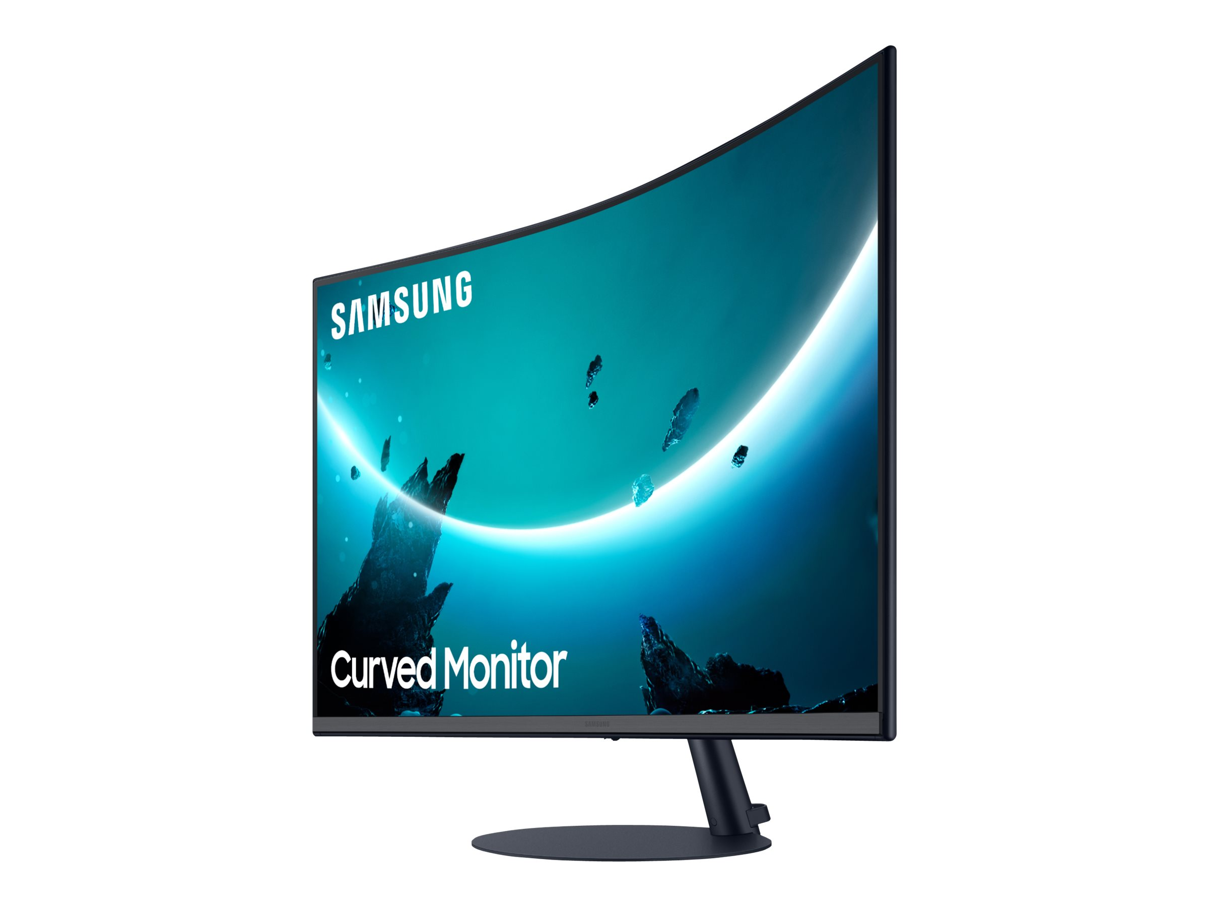 "Samsung C27T550FDU - T55 Series - LED-Monitor - gebogen - 68.6 cm (27"")"